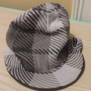 Billabong Reversible Winter cap Gray & White New